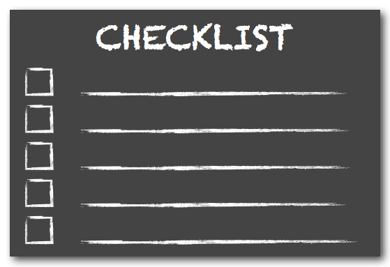 maintenance-checklist